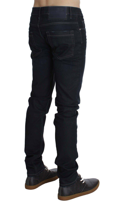 Acht Men's Cotton Stretch Slim Fit Jeans Blue SIG30534 - W34
