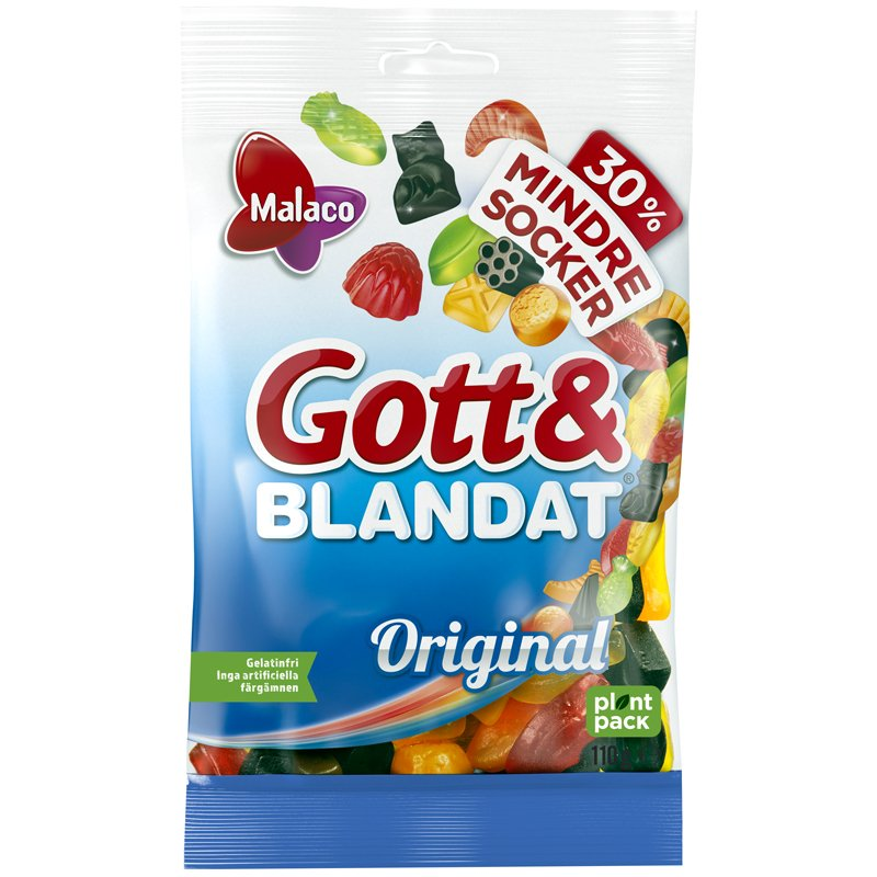 Gott & Blandat Mindre Socker - 17% rabatt
