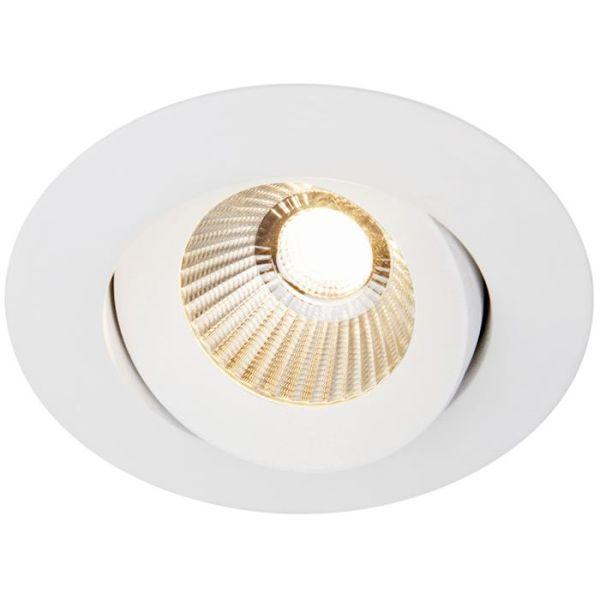 Hide-a-Lite Optic 360 Downlight-valaisin valkoinen, 2000-2700 K