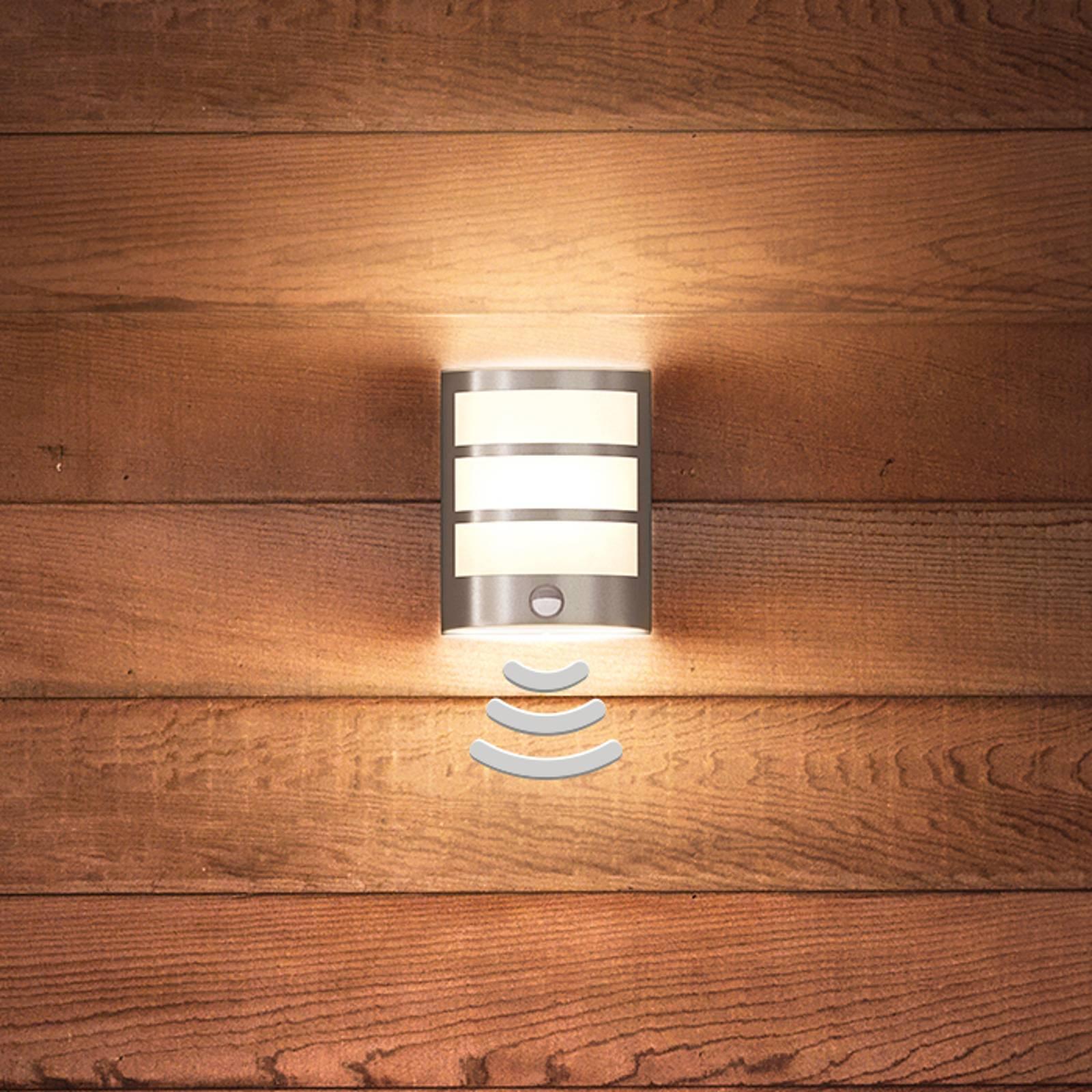 Kaunis Python-LED-seinävalaisin liiketunnistimella