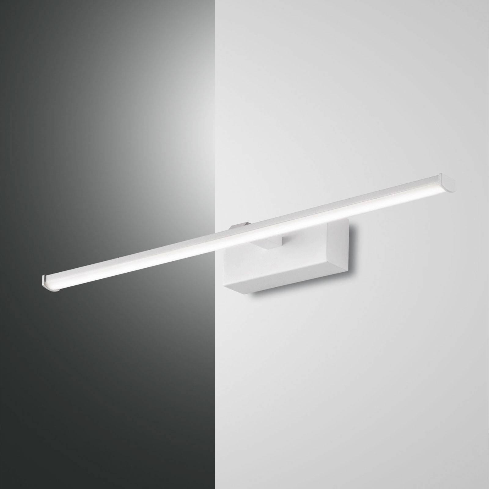 LED-vegglampe Nala, hvit, bredde 50 cm