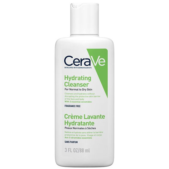 Hydrating cleanser, 89 ml CeraVe Saippuat
