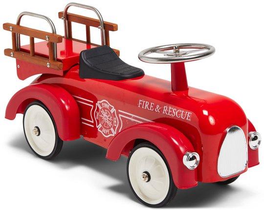 Mini Speeders Gåbil Brannbil, Rød