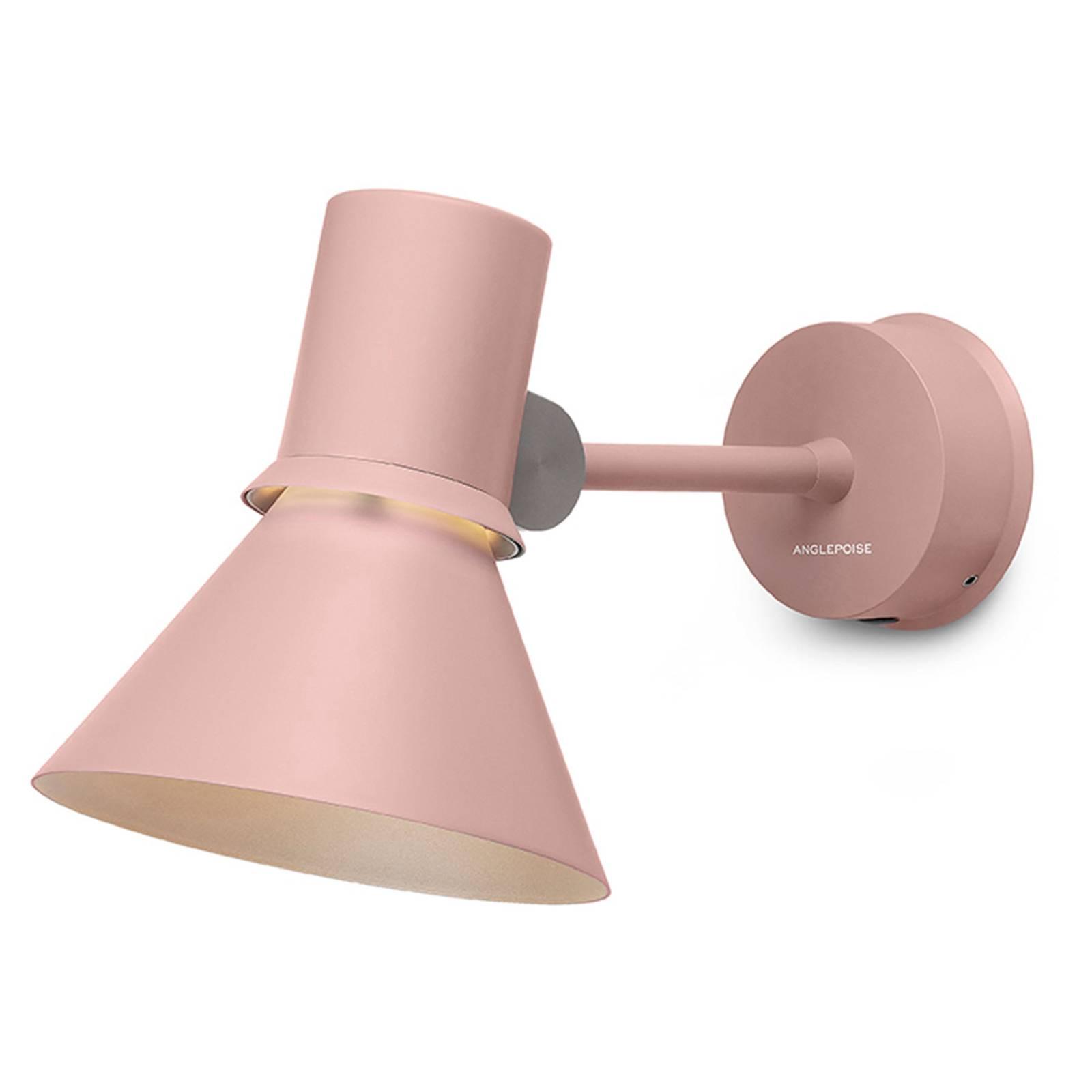 Anglepoise Type 80 W1 -seinälamppu vaaleanpunainen