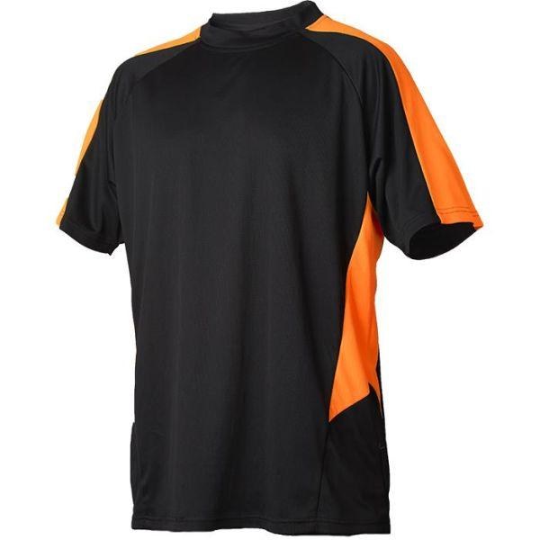 Vidar Workwear V71005203 T-skjorte oransje/svart XS