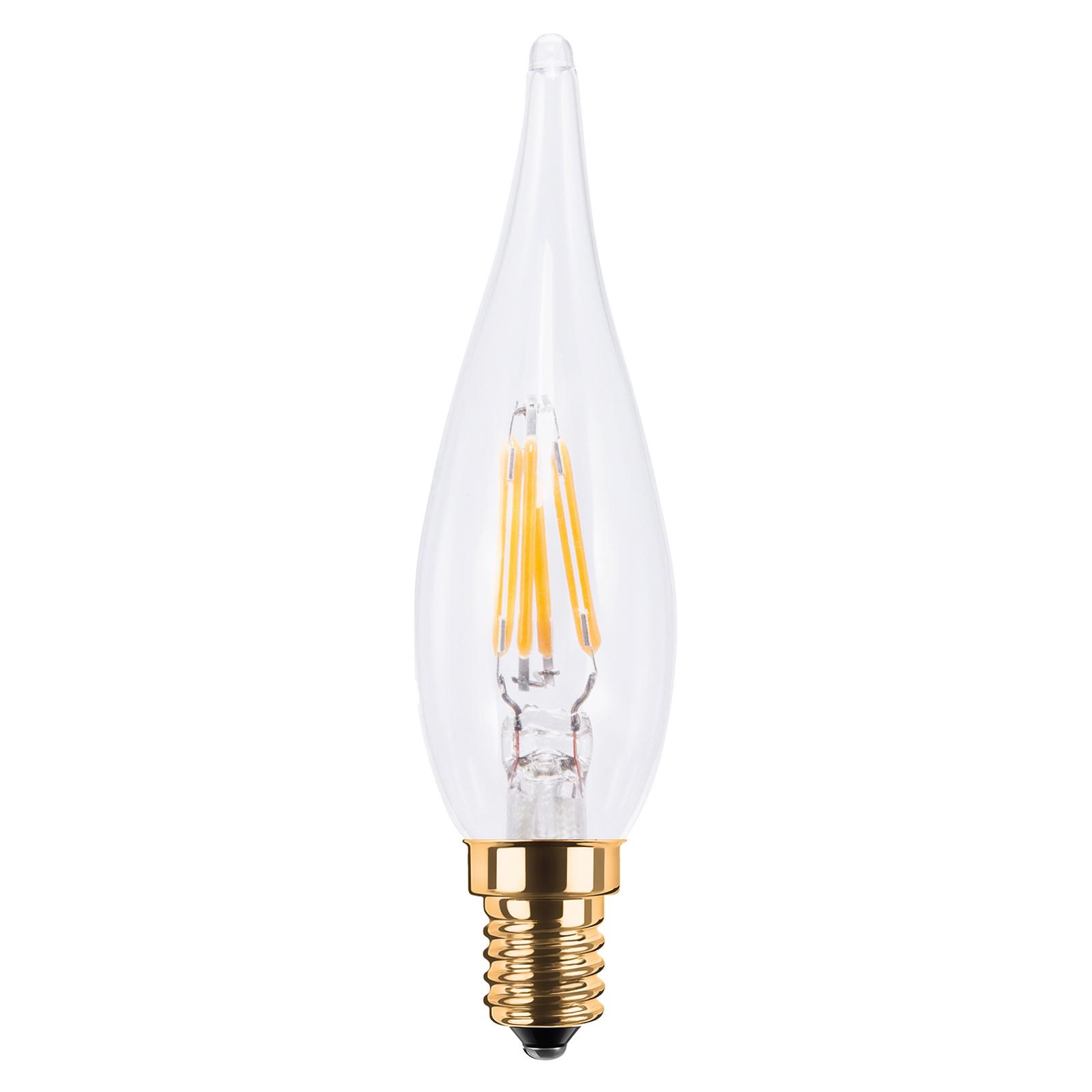 SEGULA LED-kynttilälamppu French Candle E14 1,5W