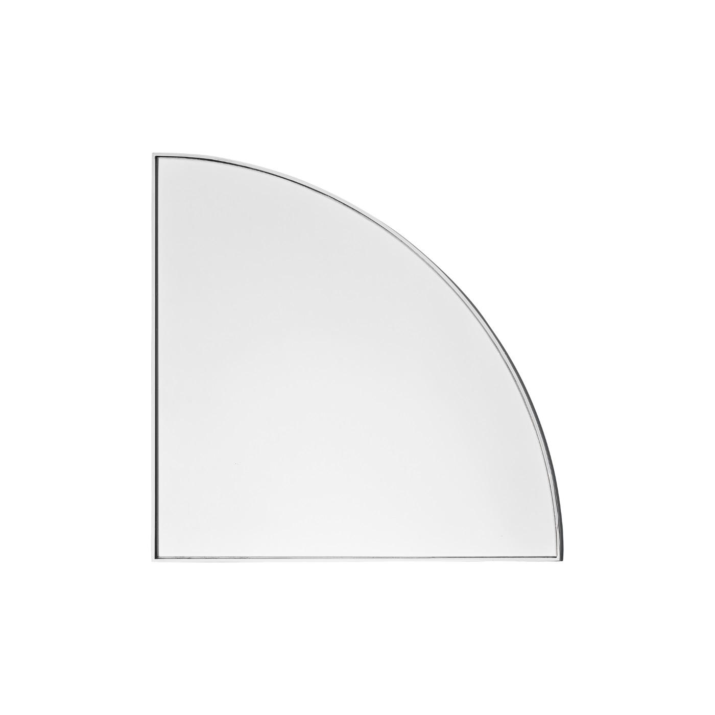 Spegel UNITY kvarts cirkel silver, AYTM