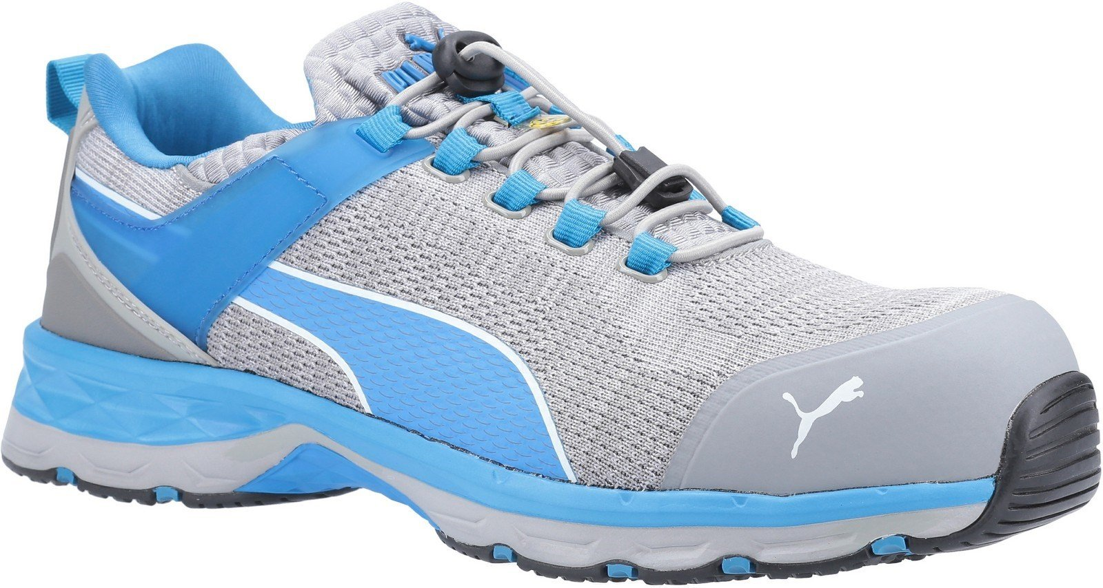 Puma Safety Unisex Xcite Low Toggle Trainer Various Colours 29981 - Grey/Blue 6
