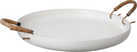 Brett i keramikk med håndtak – 35 cm