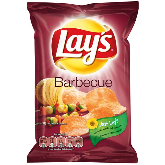 Chips Barbecue 27,5g - -1% rabatt