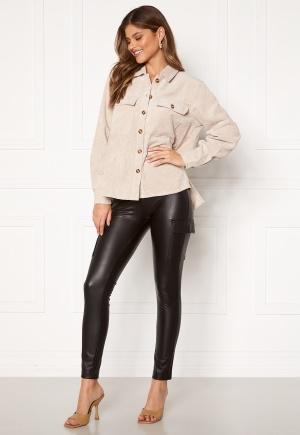 ONLY Miri Faux Leather Cargo Legging Black XS/32