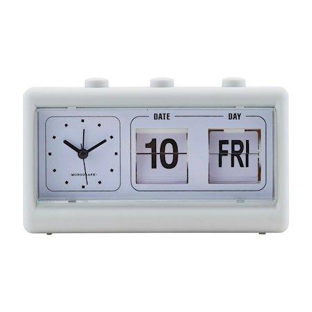 Retro klokke - grå