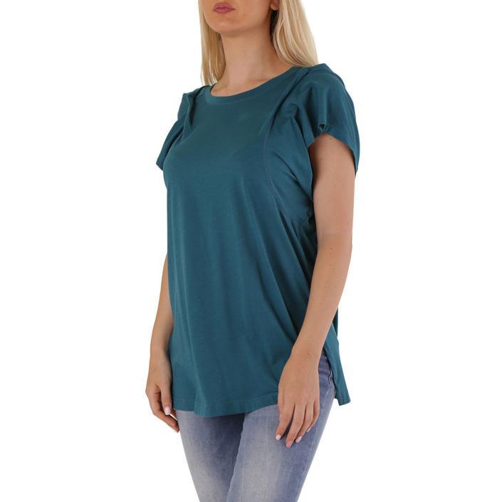 Diesel Women's T-Shirt Blue 302529 - blue S