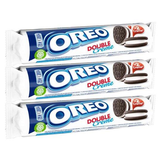 Oreo Double Creme 3kpl - 27% alennus