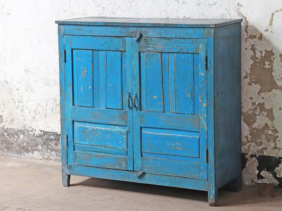 Blue Storage Cupboard Blue