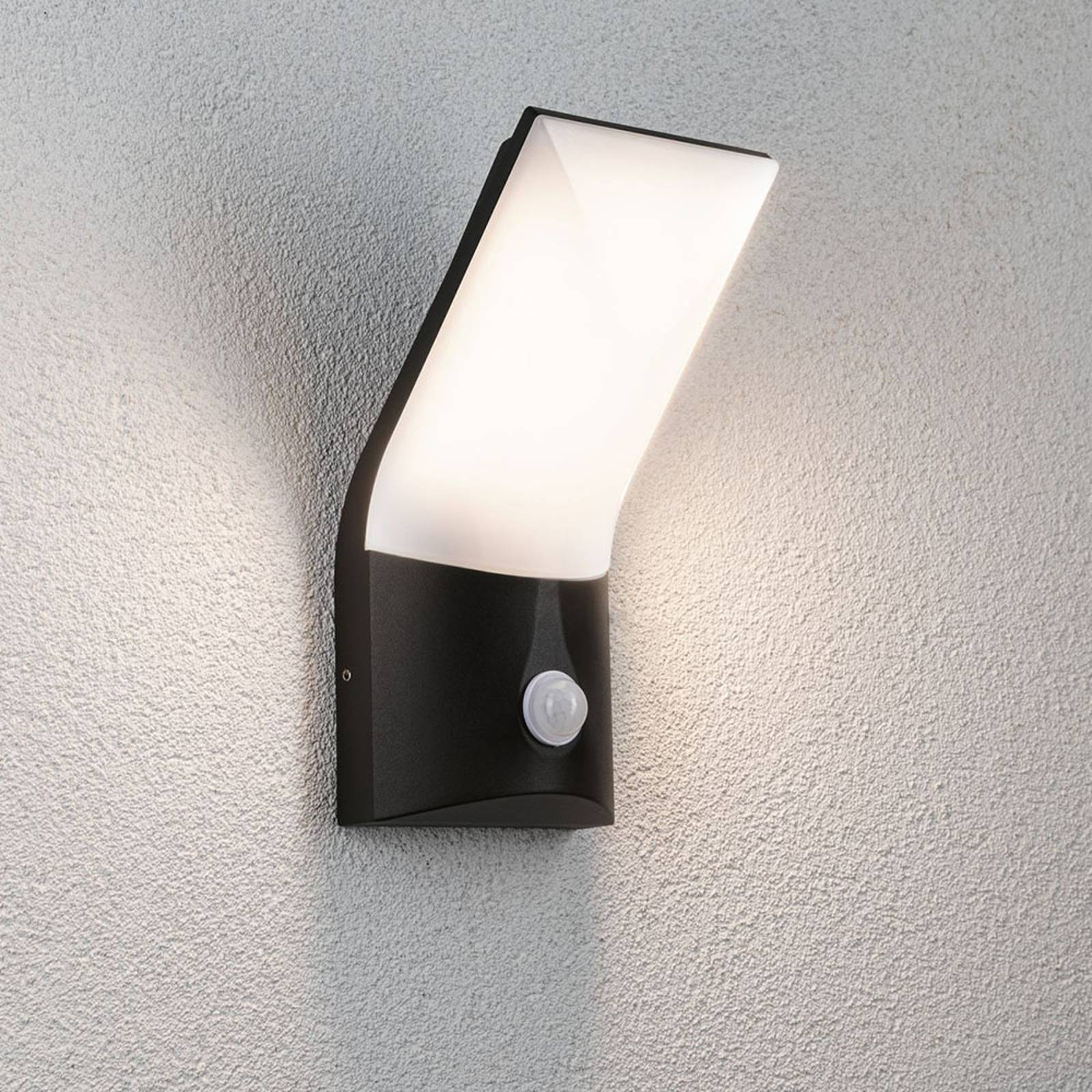 Paulmann Adya -LED-ulkoseinävalaisin anturilla