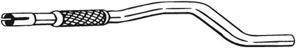 Pakoputki BOSAL 740-003