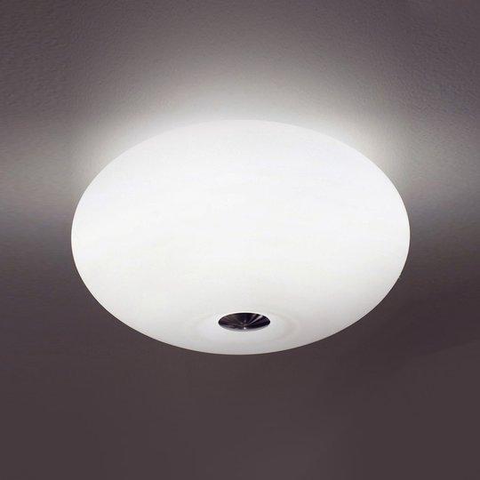 Upea AIH-kattovalaisin, 28 cm, matta valkoinen