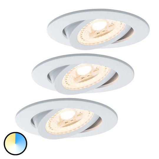 Paulmann Smart Friends spotti LED, 3 kpl, Lens CCT
