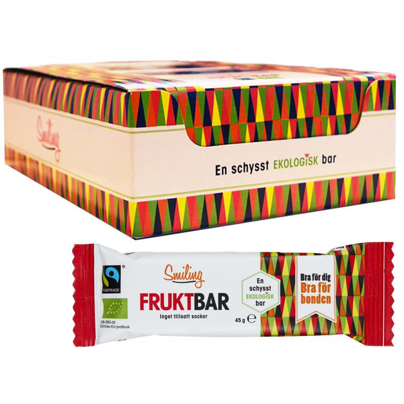 Hel Låda Fruktbars 20 x 45g - 43% rabatt