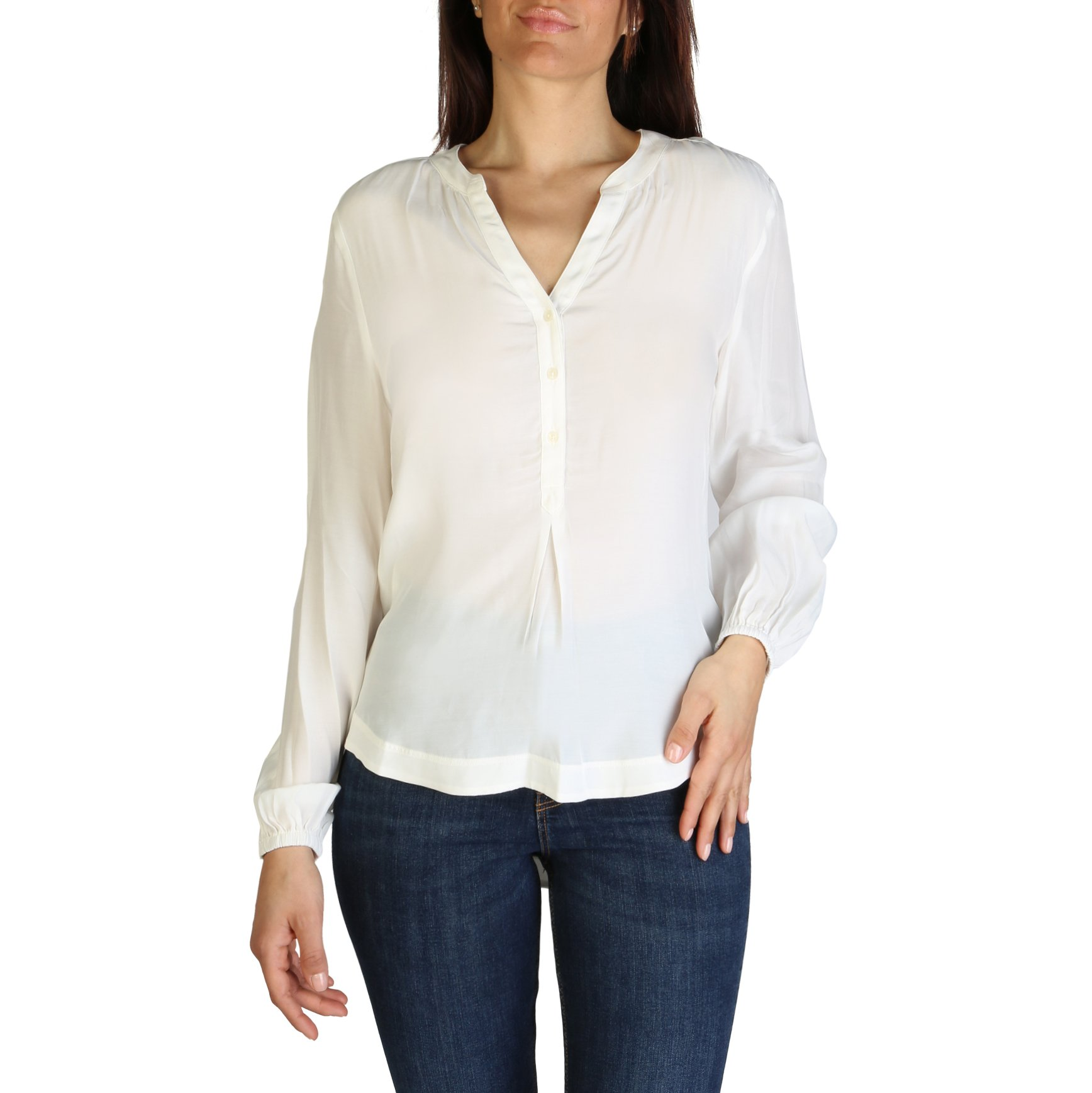 Tommy Hilfiger Women's Shirt Various Colours XW0XW01170 - white-1 12