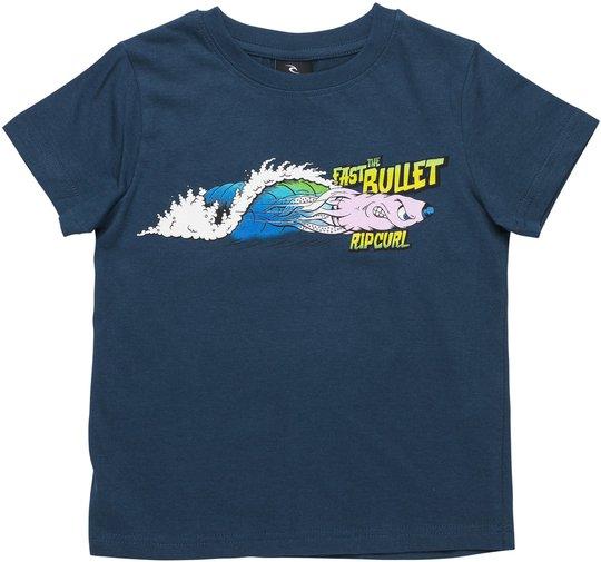 Rip Curl Fast Bullet T-Shirt, Navy 4 år