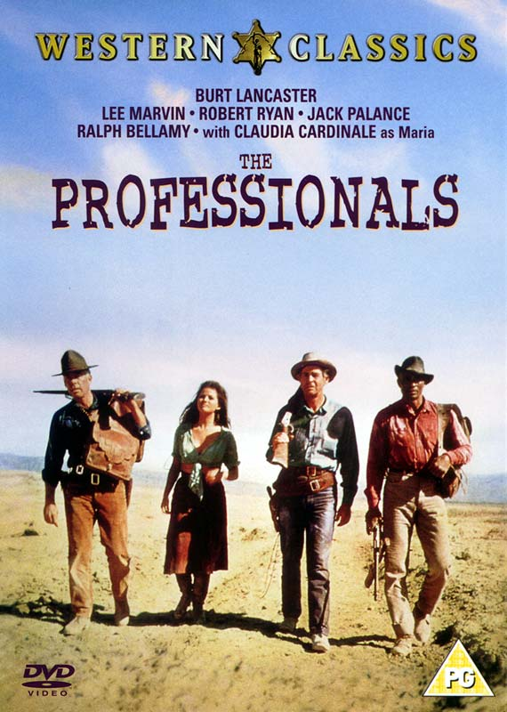 Professionals, The - DVD