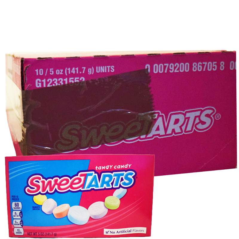"""Laatikollinen """"Sweetarts"""" Makeisia 1410g - 88% alennus"""