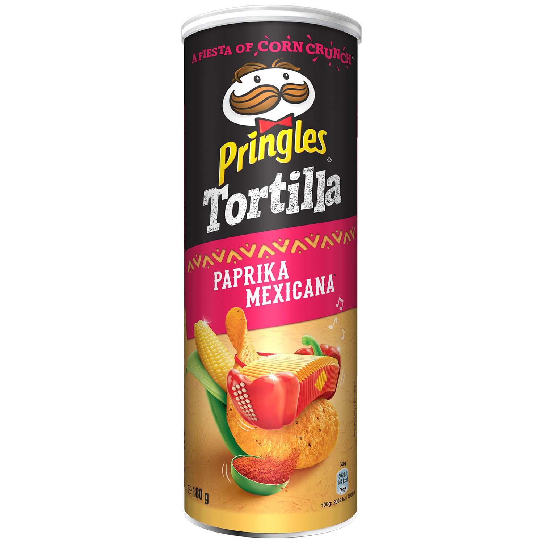 Pringles Tortilla Paprika Mexicana 180g