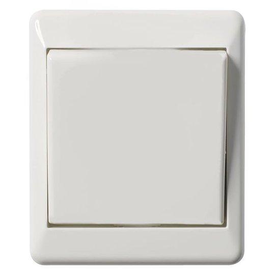 Elko EKO03622 Kytkin pinta-asennettava, valkoinen risti
