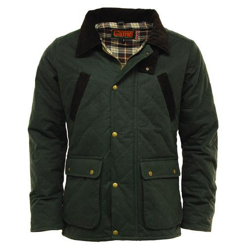 Game Technical Apparel Unisex Jacket Various Colours Quilt - Olive S