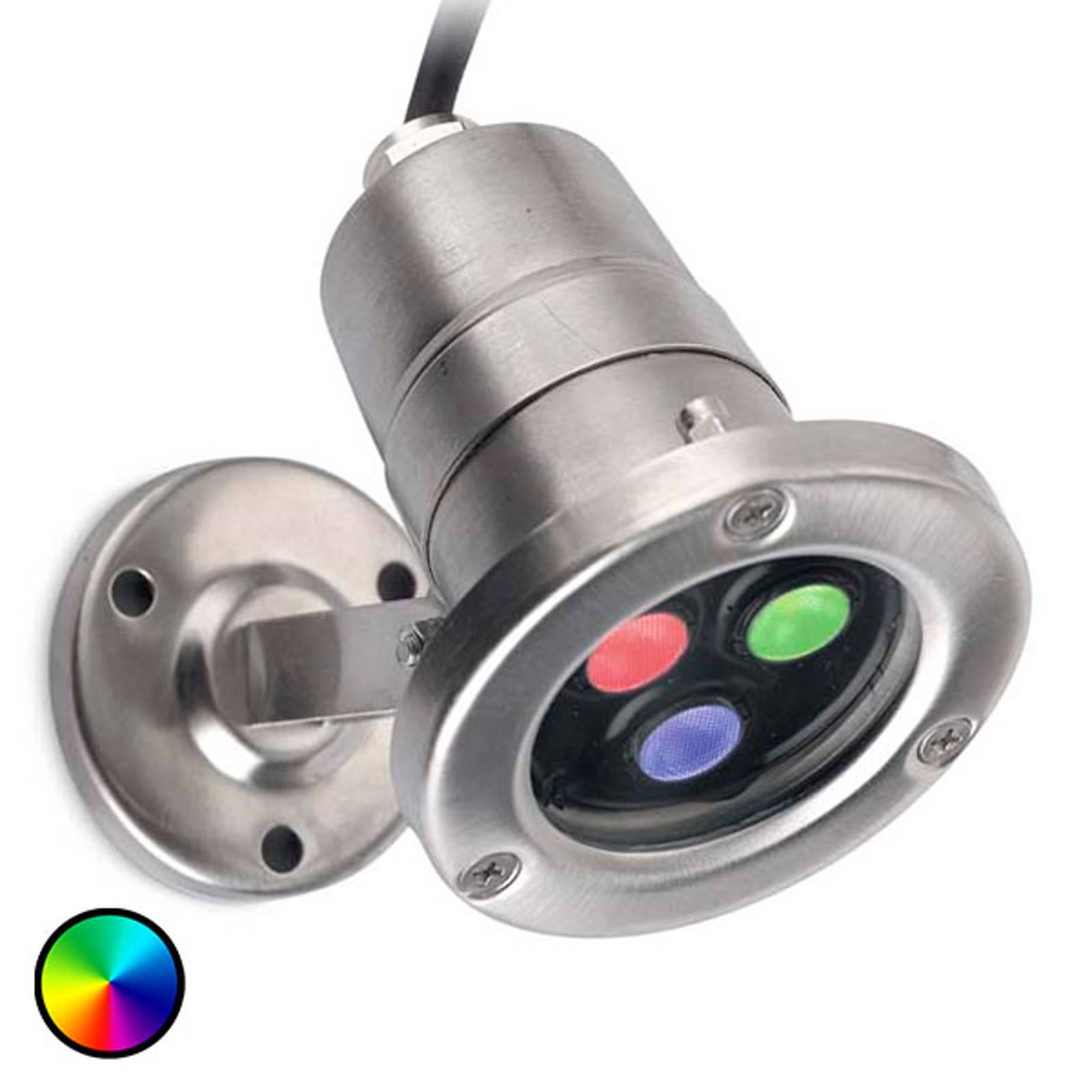 Vedenkestävä LED-valaisin Aqua Waterproof RGB