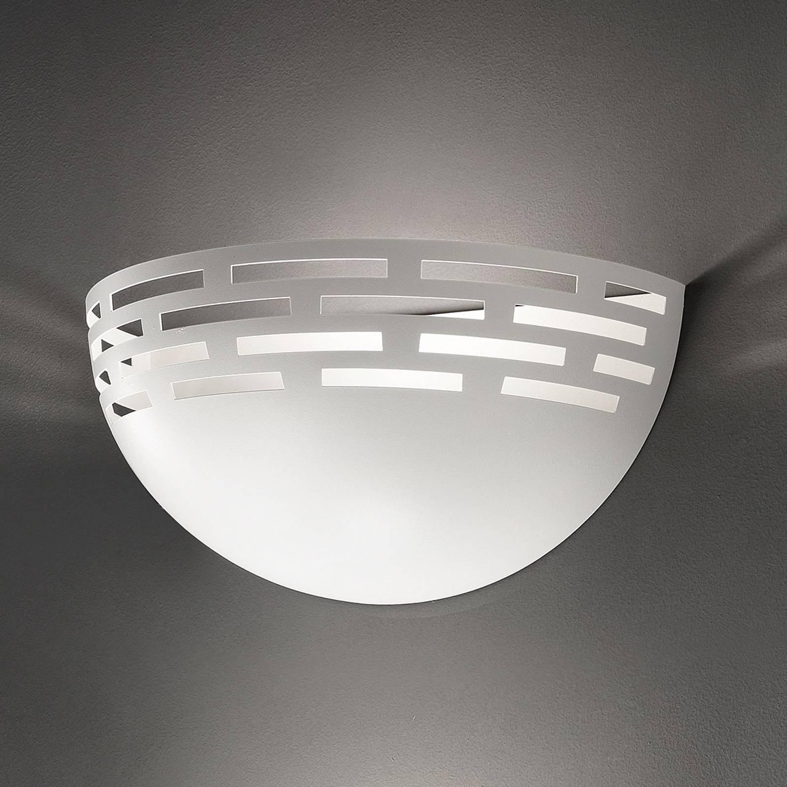 Greka - vakker LED-vegglampe i hvitt
