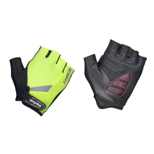 GripGrab ProGel Hi-Vis Padded Glove, Cykelhandskar kort