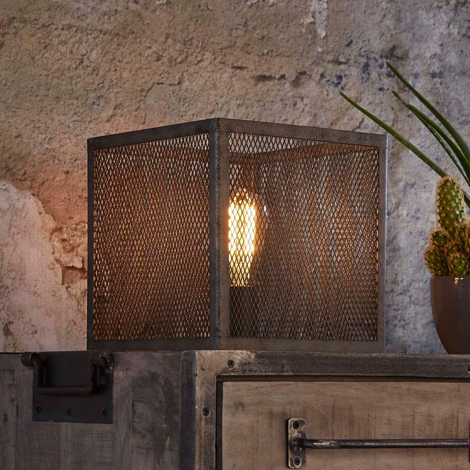 Bordlampe Squaregrid, en lyskilde