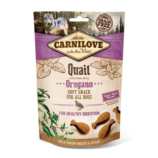 Carnilove Dog Semi Moist Snack Quail & Oregano
