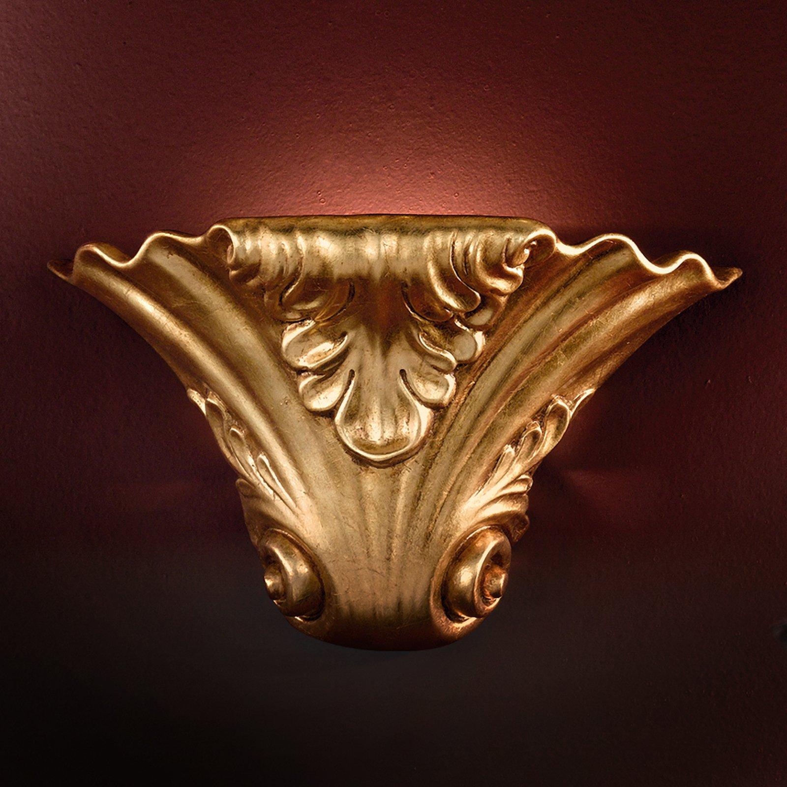 Forseggjort TASCA vegglampe av keramikk