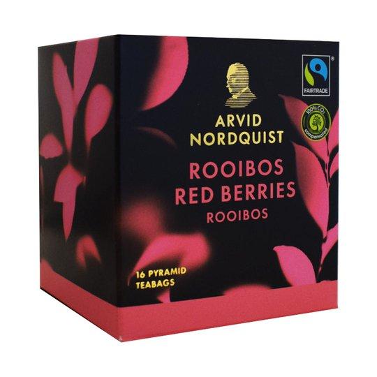 Musta Tee Rooibos Red Berrys - 45% alennus