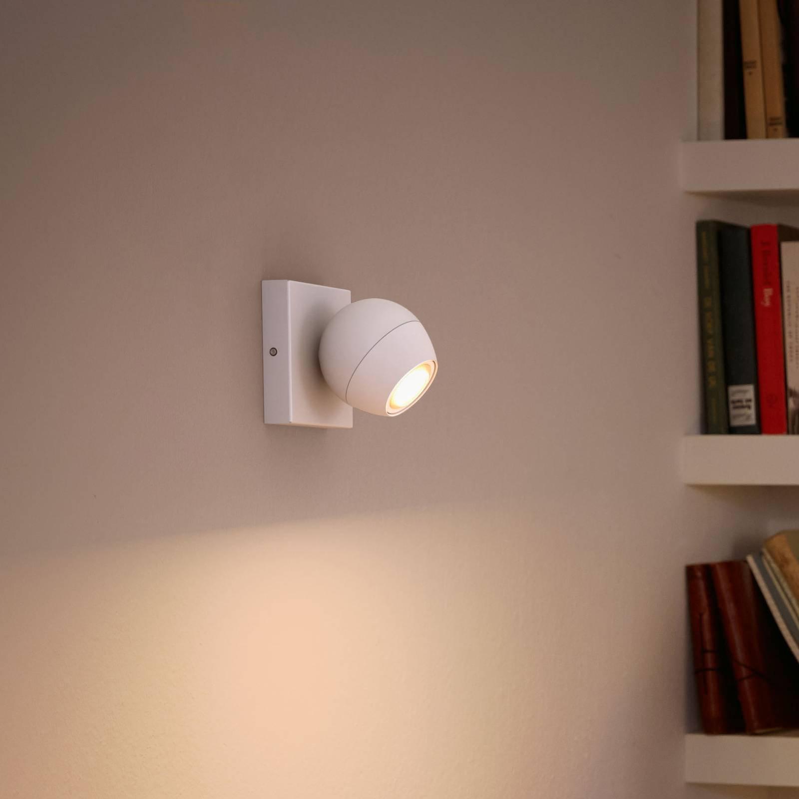 Philips Hue Buckram LED-spot i hvit dimmebryter