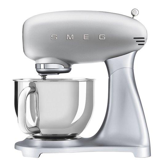 Smeg - 50's Style Köksmaskin SMF02 4,8 L Silvergrå