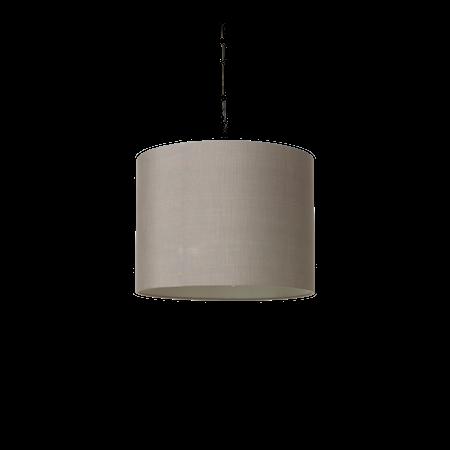 Raw Silke Lampskärm Grå 40x30 cm