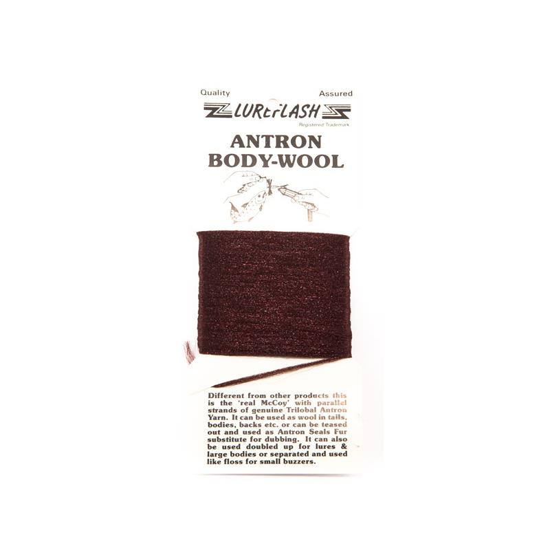 Antron Yarn Carded - Brown