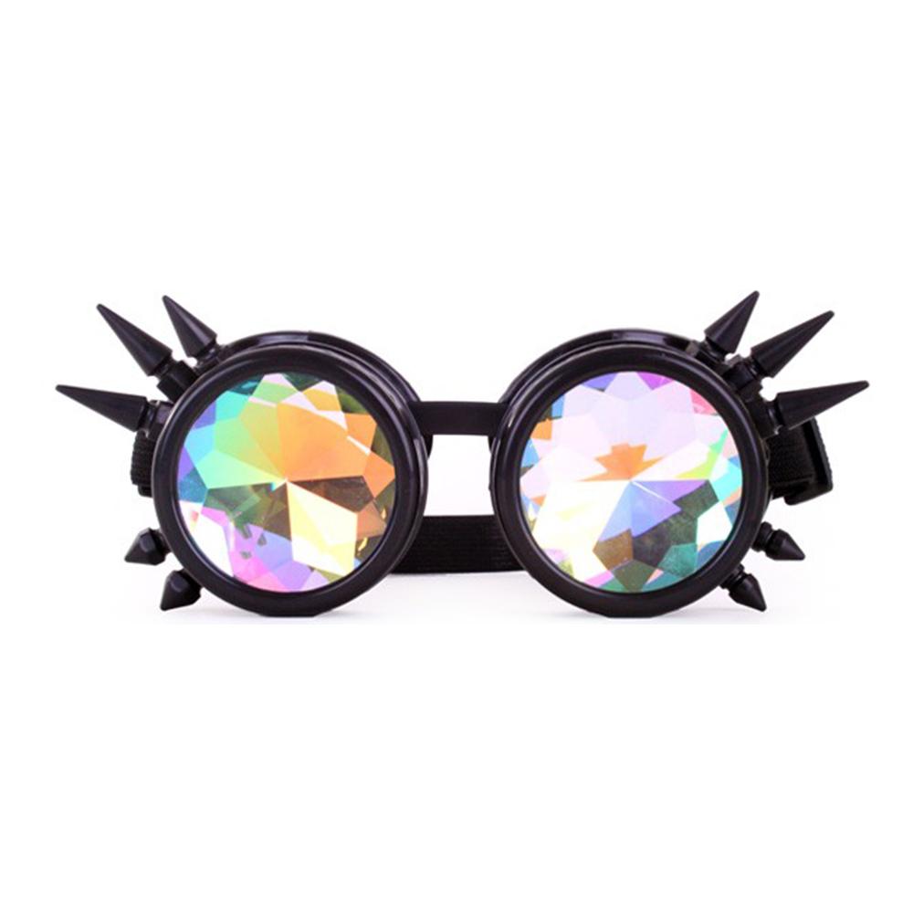 Steampunk Glasögon med Nitar - One size