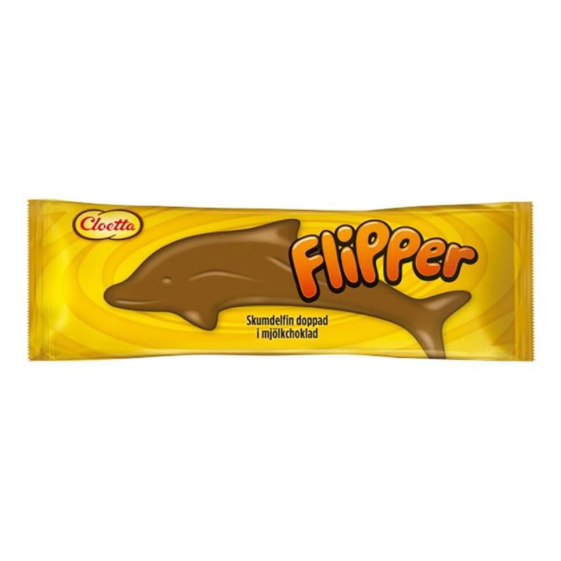 Flipper Choklad Skumgodis 1-pack
