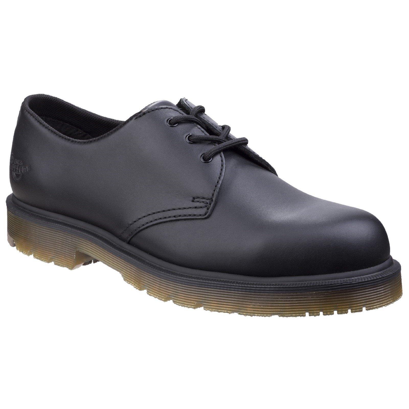 Dr Martens Men's Arlington NS Derby Shoe Black 26781 - Black Industrial Full Grain 6