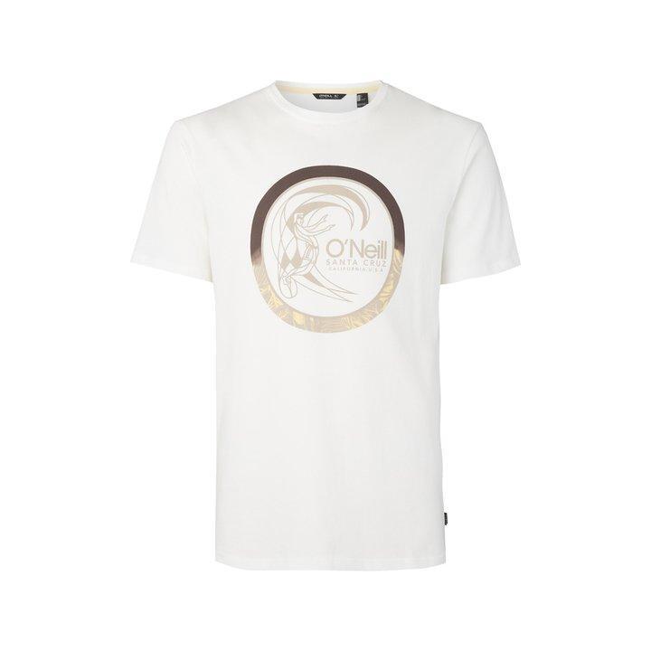 O'Neill Men's LM Circle Surfer T-Shirt Various Colours 8719403621416 - S Powder White