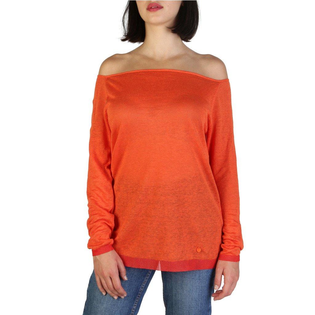Armani Jeans Women's Sweater Orange 308990YU - orange 38 EU
