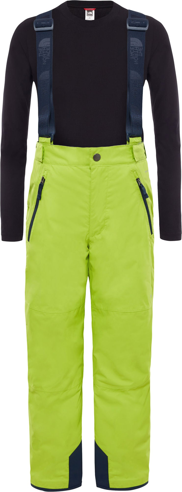 The North Face Snowquest Suspender Plus Byxa Barn, Lime Green S