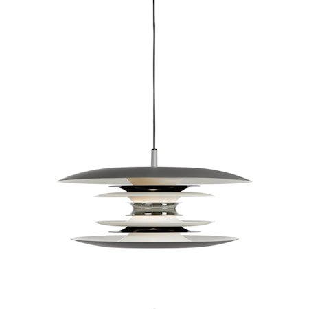 Diablo Pendel Grå/Blank svart LED 40 cm