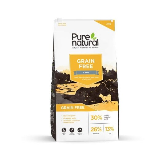 Purenatural Grain Free Lamm (2 kg)